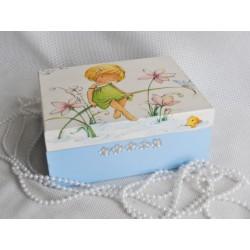Dárková krabička s vílou