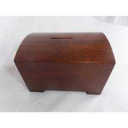 Dřevěná kasička